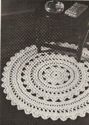 tapetes crochet paso a paso redondo