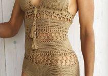 Ideas de trajes de baño tejidos a crochet