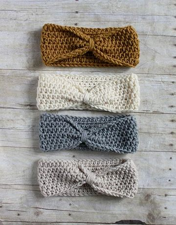 bandana tejida al crochet