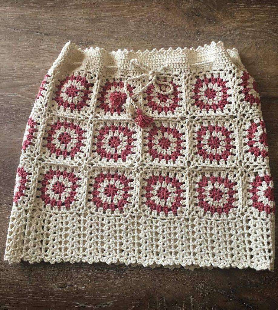 Bonitas faldas a crochet