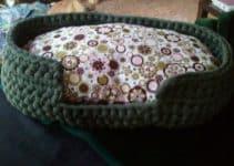Cómo tejer camas para gatos a crochet