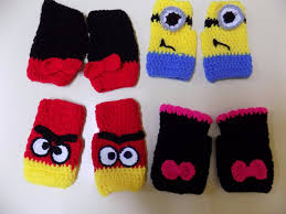 guantes de lana para hombres faciles
