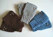 Cómo tejer guantes de lana para hombre