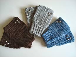 gantes tejidos al crochet faciles