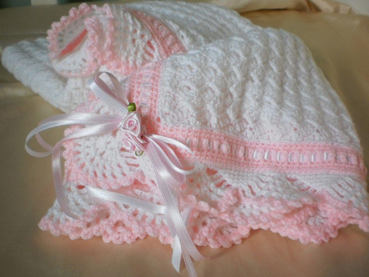 mantitas para bebe a crochet