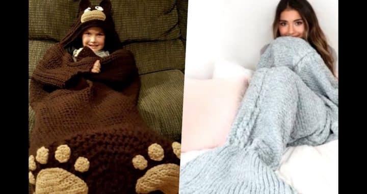 pijamas tejidas a crochet