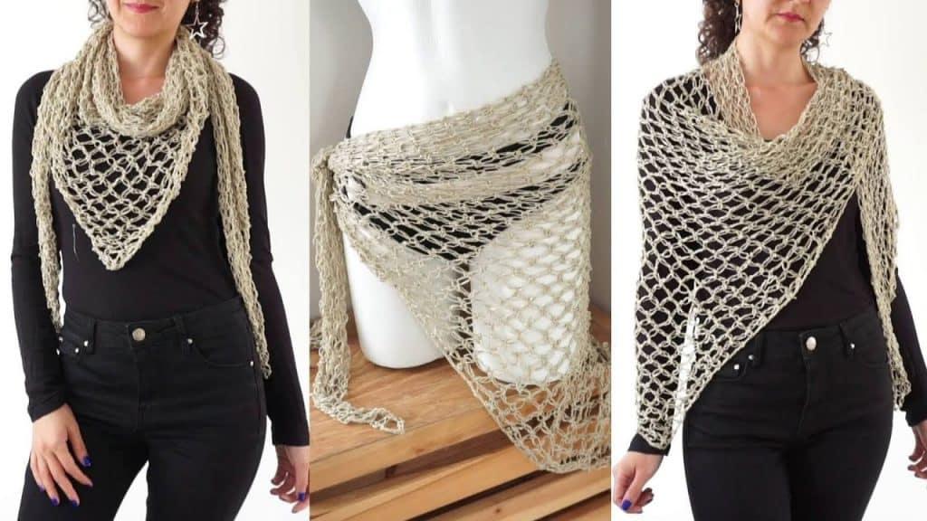 salida de baño a crochet fácil