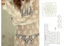 Ideas para tejer salida de baño a crochet
