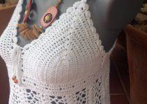 3 ideas de top en crochet paso a paso