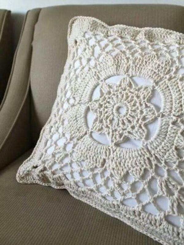 ideas de almohadones tejidos al crochet