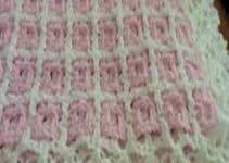 Colchas para bebe a crochet paso a paso