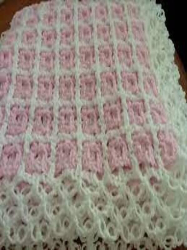colchas para bebe a crochet 2021 1