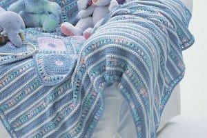Lindas colchitas tejidas para bebe