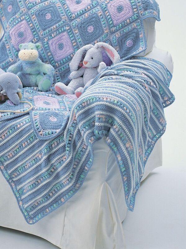 colchitas tejidas para bebe