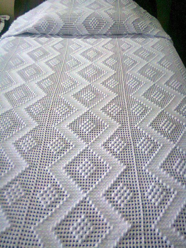 colchas tejidas a crochet paso a paso fáciles