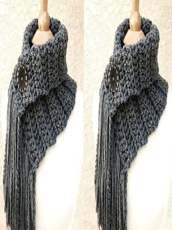 cuelleras tejidas para mujer