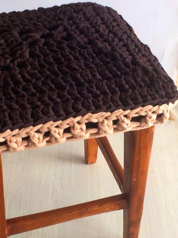 Fundas tejidas para sillas a crochet
