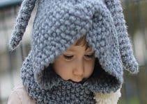 Gorras tejidas para niñas, paso a paso