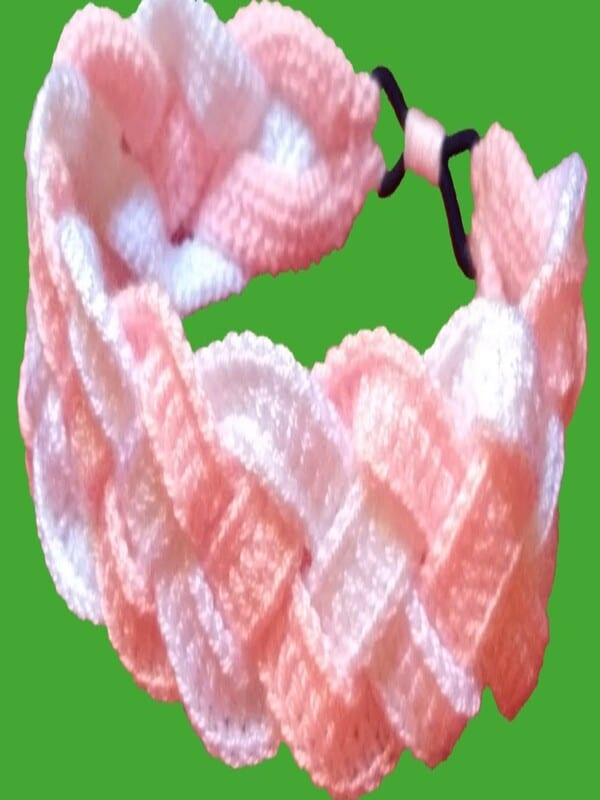 Vincha a crochet fácil