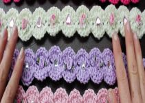 3 ideas de vinchas a crochet para niñas