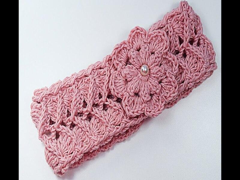 vinchas a crochet para señoritas paso a paso