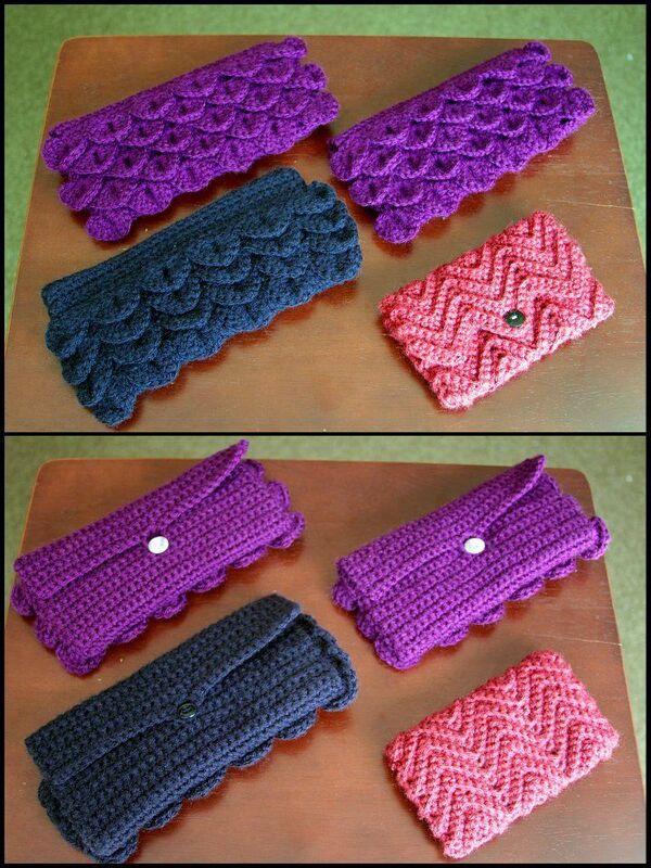 carteras tejidas en crochet