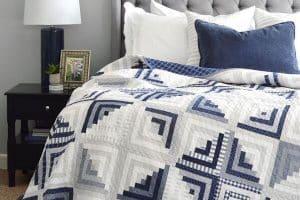 Teje colchas para cama a crochet en 2 o más colores