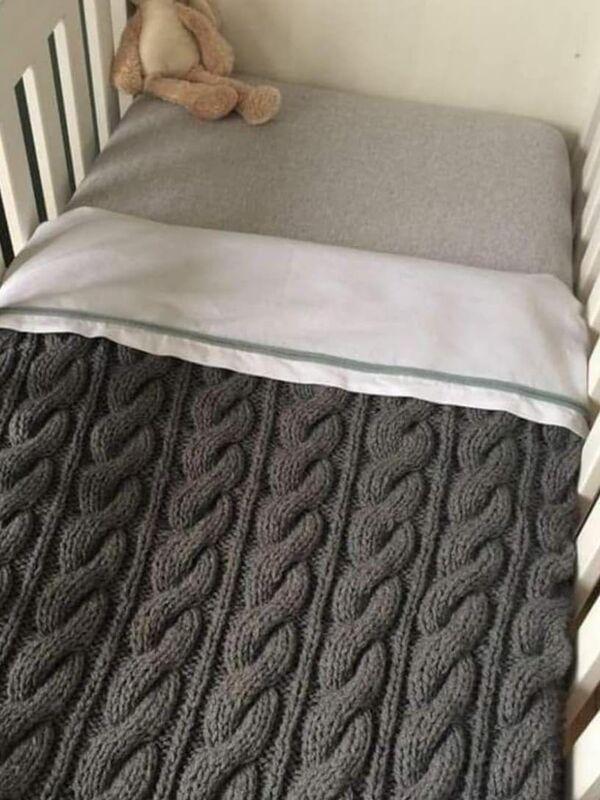 colchas para cama de bebe facil