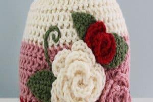 Gorros para bebes a crochet de 0 a 3 meses