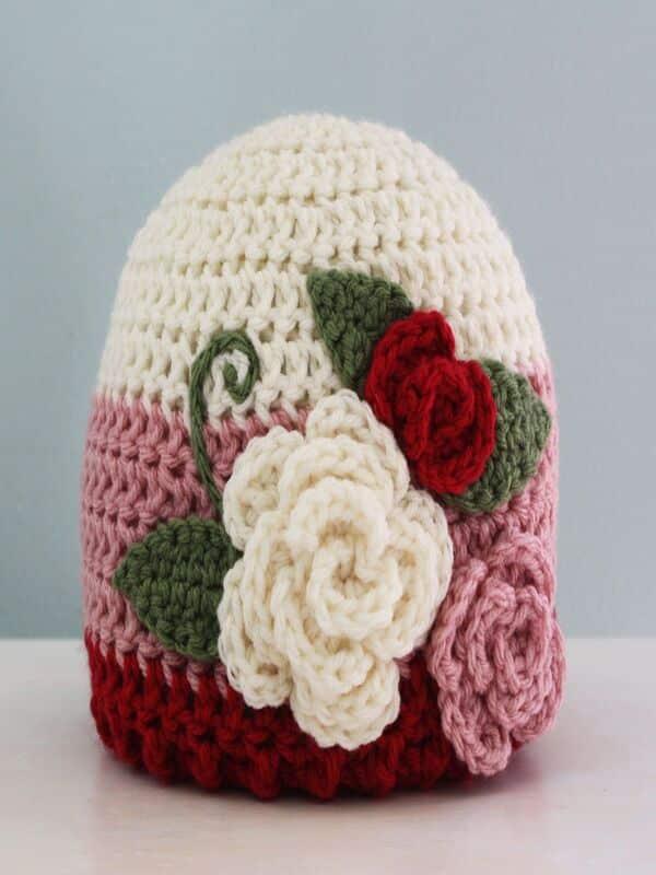 gorros para bebes a crochet