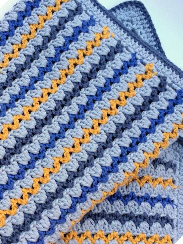 mantas de lana a ganchillo paso 1 1