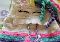 Mochilas tejidas en crochet en 3 pasos