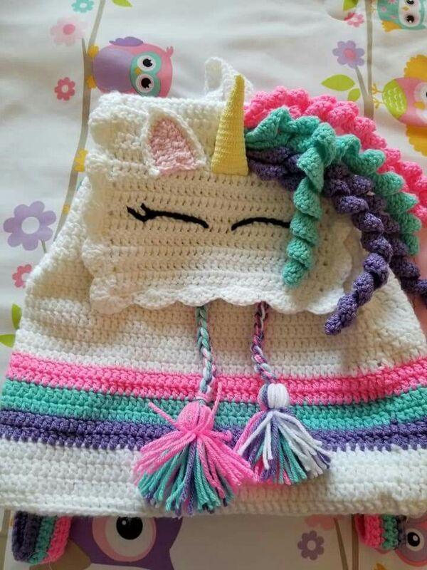 mochilas tejidas en crochet