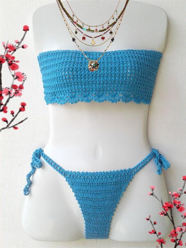 Ropa de baño tejido a crochet