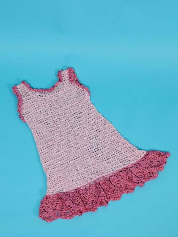 patrones de vestidos en ganchillo