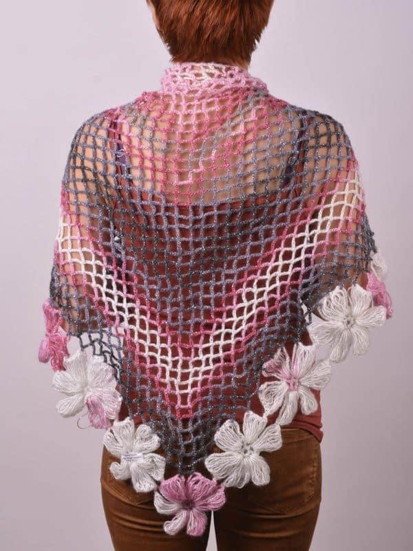 ponchos a crochet para dama