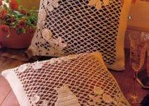 Fundas tejidas para almohadas de 30 cm