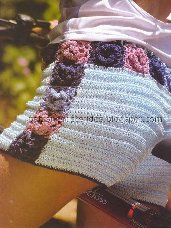 short a crochet facil