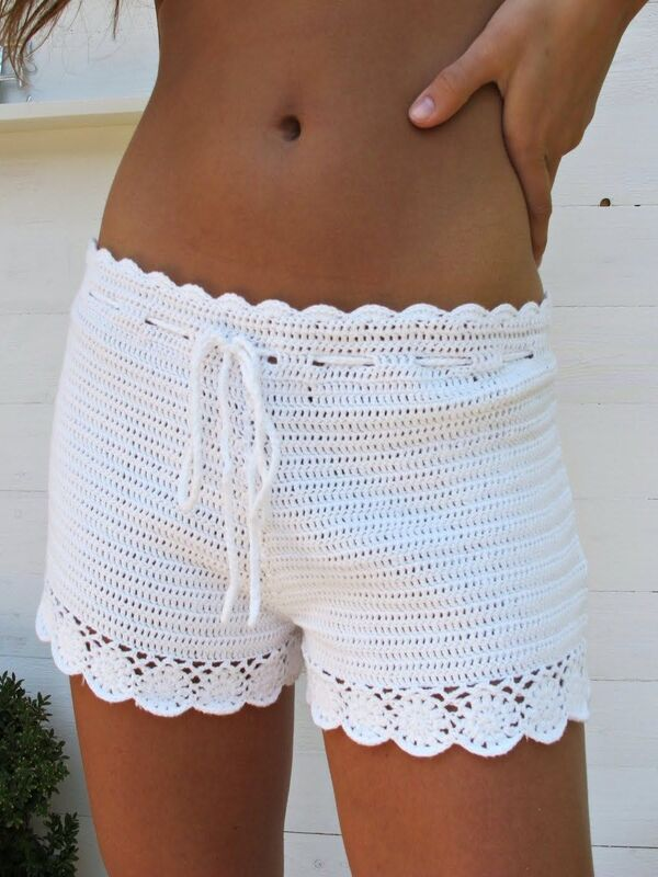 short a crochet fáciles