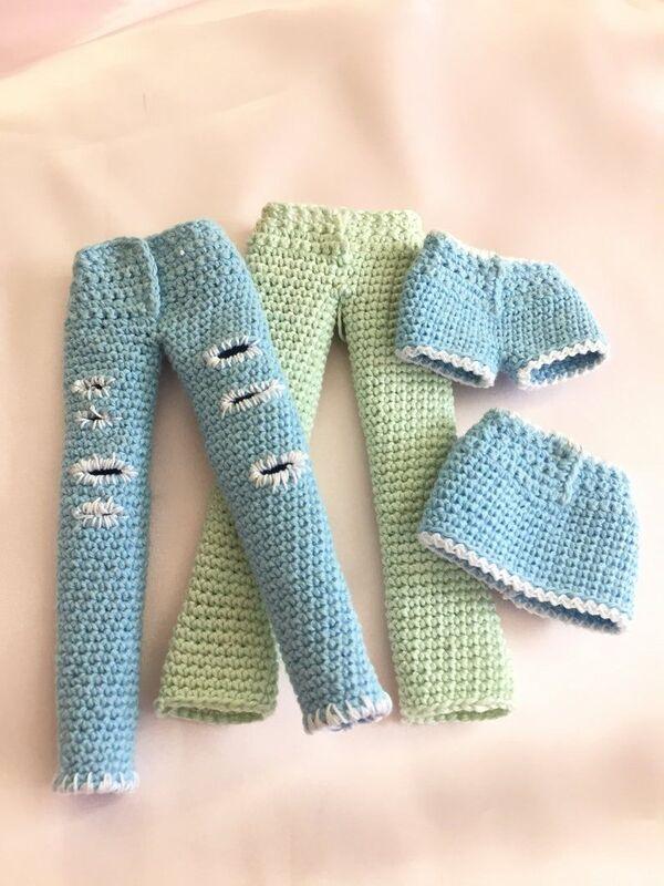 short tejidos a crochet