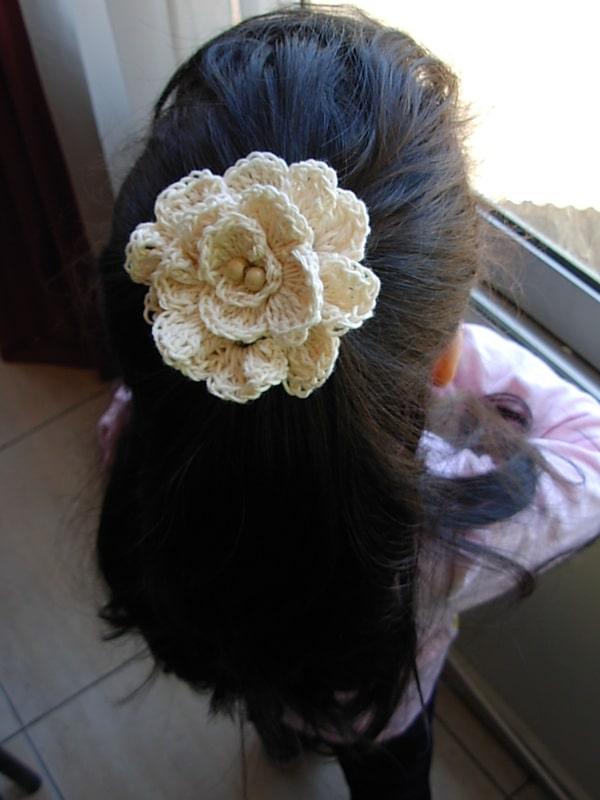 tejer flores a crochet usos practicos