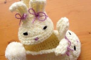 Tiernos zapatos en crochet para bebe de 3 meses