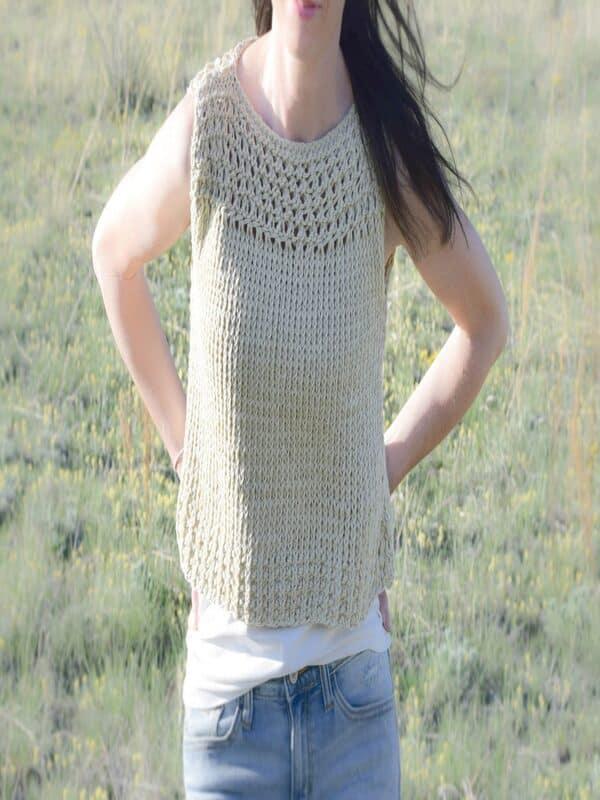 blusas de verano a crochet