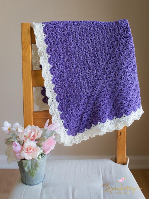 Cobijas tejidas a crochet