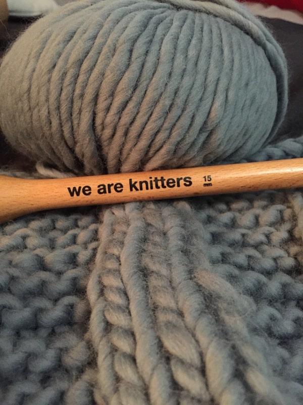mantas de lana tejidas a mano