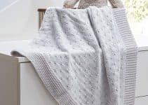Sabanas tejidas para bebe de 80 cm x 120 cm