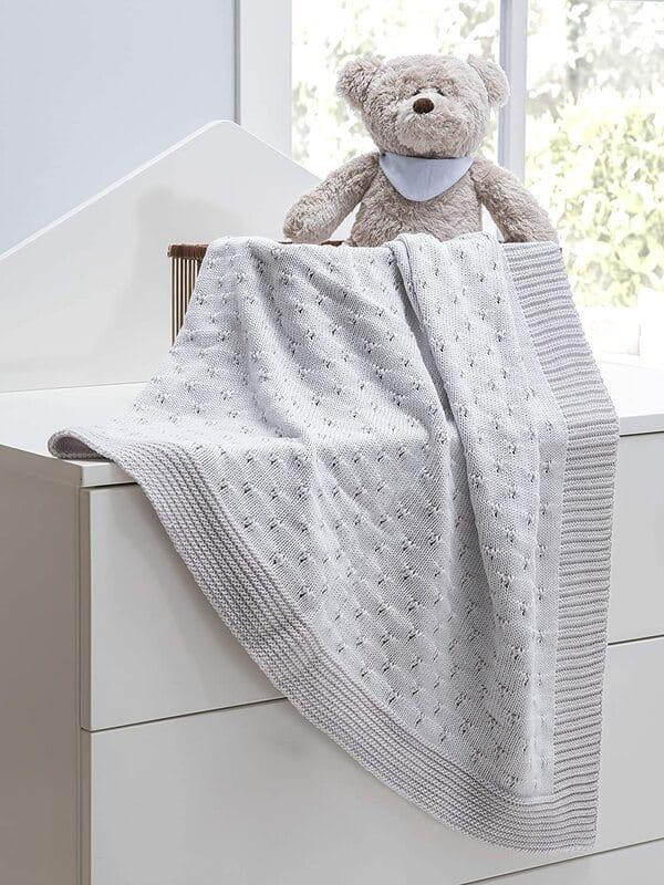 sabanas tejidas para bebe