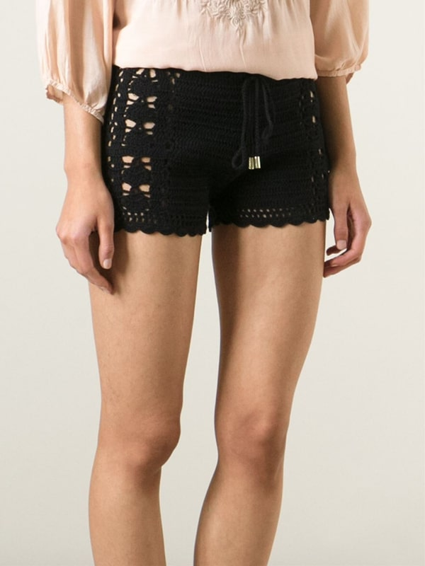 shorts tejidos en crochet paso a paso