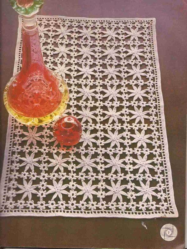 tapetes a crochet con patrones