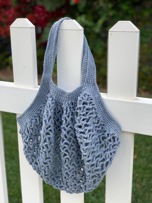 bolsos tejidos  de verano a crochet